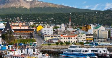 Harbour of Ushuaia