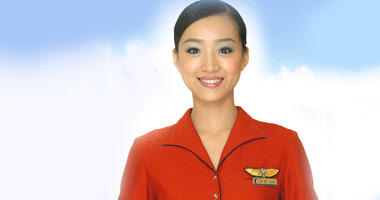 Air Macau flight attendant