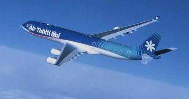 Air Tahiti Nui in the sky