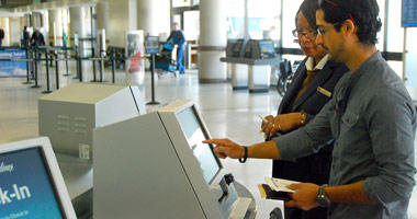 Self check-in machine
