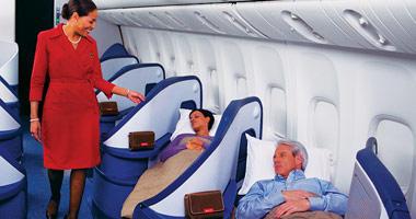 Delta Air Lines flat beds