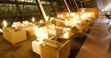 Dragon Air lounge, Shanghai airport