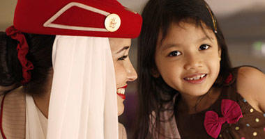 Young voyagers journey on Emirates