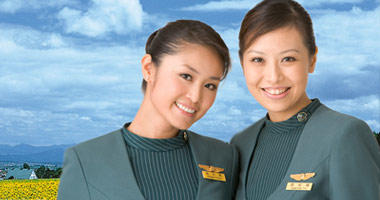 Eva Air flight crew