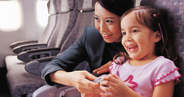 Your child is in safe hands on Taiwan's Eva Air