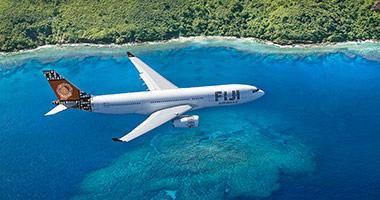 Fiji Airways in the sky