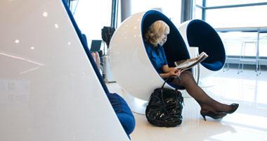 Finnair Silver Wings lounge