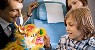 Kid-friendly fun on Finnair
