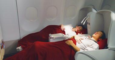 Garuda Indonesia flat beds