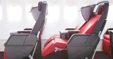 Japan Airlines seating