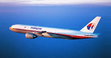 Malaysia Airlines in the sky