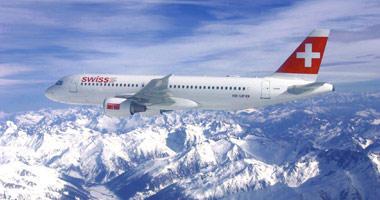 Swiss International in the sky