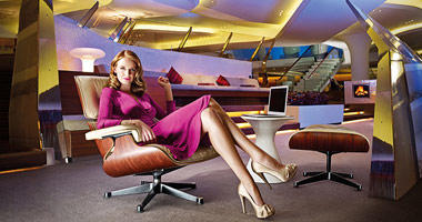 The chic Virgin Atlantic Clubhouse