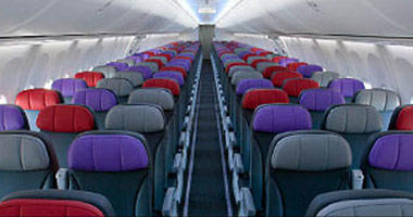 Virgin Australia's Economy Cabin