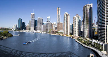 Cruise from Brisbane river