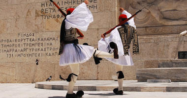 Greek Guards at Parliament House
