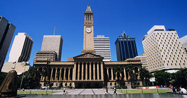 City Hall & King George Square