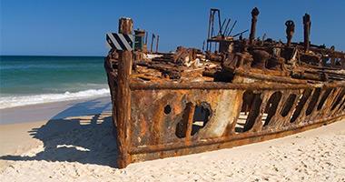 S.S. Maheno Wreck