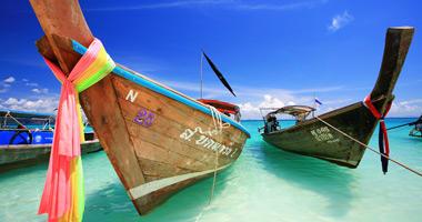 Long-tail Boats – Phuket, Thailand