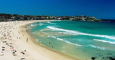 Popular Bondi Beach
