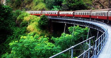 The Kuranda Scenic Railway