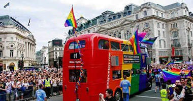 London Pride - Rainbow Bus