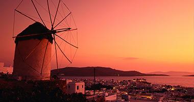 The Mykonos Windmills