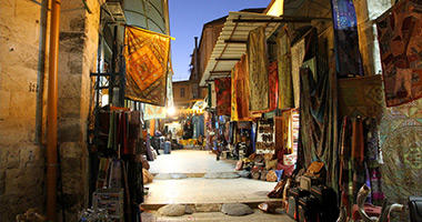 Traditional Middle Eastern Souk