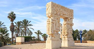 Statue of Faith, Tel Jaffa