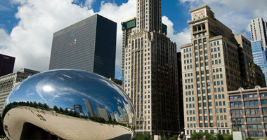 'The Bean' at Millennium Park