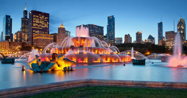Buckingham Fountain, Grant Park