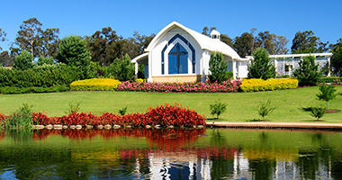 Hunter Valley Gardens Chapel