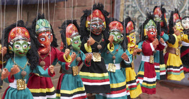 Traditional Nepalese Puppets