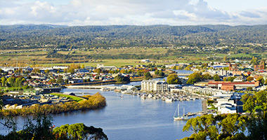 Launceston's Tamar River