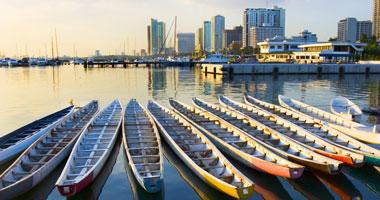 Navy Dragon Boats, Manila Bay