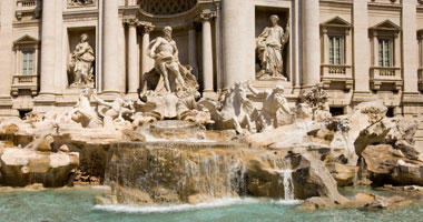 Famous Trevi Fountain