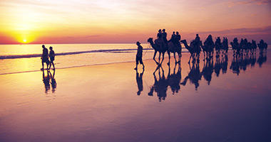 Take a Sunset Ride in Broome