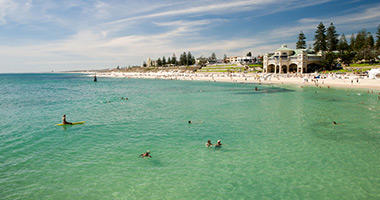 Popular Cottesloe Beach