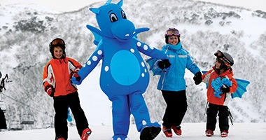 Harry Snowdragon Show, Mt Hotham