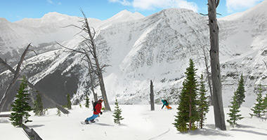 Carving up the Alberta Slopes