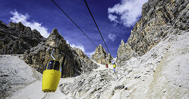 Two-seater Cable Car, Mount Cristallo