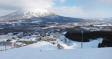 View to Mount Yotei