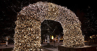 Antler Arch, Jackon Hole Town Square