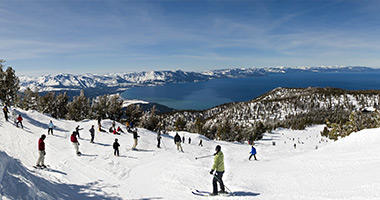 Slopes With a View, Lake Tahoe