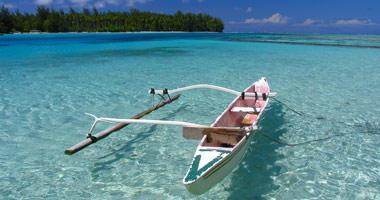 Fishing Boat in Moorea