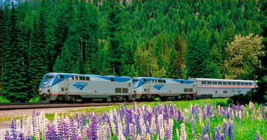 Enjoy a Springtime Rail Journey