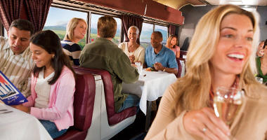 Dine Onboard with Amtrak