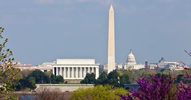 Visit the US capital, Washington DC