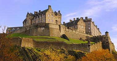 Visit Edinburgh Castle in Scotland