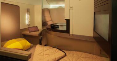 Etihad Airways Business Class Studio.